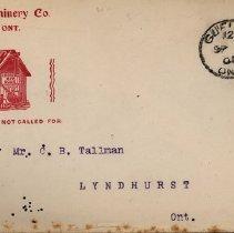 Image of 2010.51.2 - Envelope
