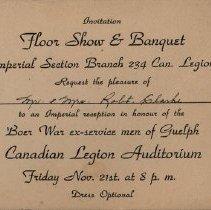 Image of 1998.29.8 - Invitation