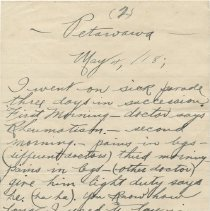 Image of Letter Page 2