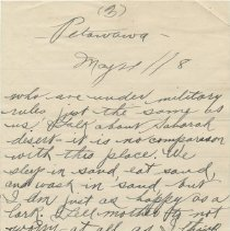 Image of Letter Page 3