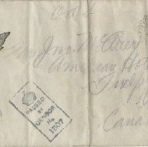 Image of envelope front only