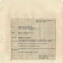 Image of .22  Request for Permission to Marry  (1941)