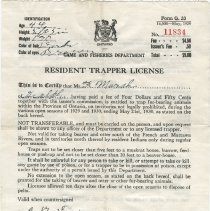 Image of 1983.11.8 - License