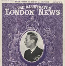 Image of The Illustrated London News, The Death of King George VI