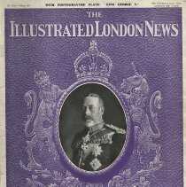 Image of THe Illustrated London New, The Death of King George V