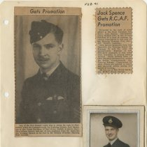 Image of .30 Two Newspaper Clippings and One Photo  (1941)