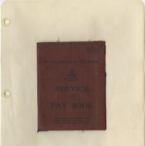 Image of .33 Loose Small Hardcover RCAF Service Booklet Front Cover (1941)