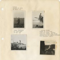 Image of .35 Four Small Photos Bottom Right is Loose   (1941)