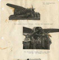 Image of .38  Three Photo Cutouts  Bottom Photo Loose   (1941)