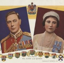 Image of The King and Queen, 1939