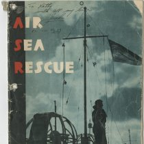 Image of .17 Front Cover Booklet  Air-Sea Rescue (1942)