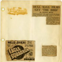 Image of .18 Three Newspaper Clippings   (1941)