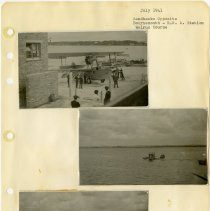 Image of .20 Three Photos Bournemouth  R.N. Station, Walrus Course (1941) 3rd loose