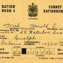 Image of 1986.32.16 - Book, Ration