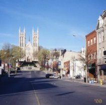 Image of Church of Our Lady and Macdonell Street, 2000