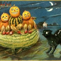 Image of 1967.1.312 - Card, Halloween