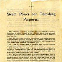 Image of Leaflet, Back Cover