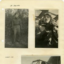 Image of .24 Two Photos Dated 1942 and One Dated 1941