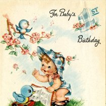 Image of 1984.89.59 - Card, Birthday