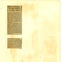 Image of .56 Two Newspaper Articles  (1942)