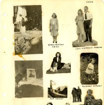 Image of .35  Thirteen Cutouts From Photos  (1942)