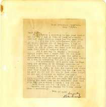 Image of .48 Typed Letter  Dated July 27, 1942