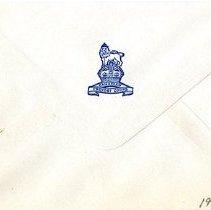 Image of Envelope Back