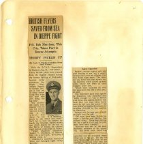 Image of .66  Two Newspaper Clippings  (1942)