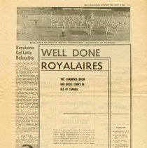 Image of Royalaires Newspaper