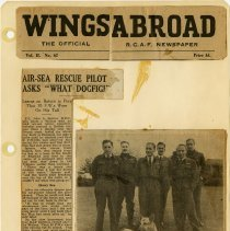 Image of .2 Newapaper Article in Three Clippings   1943