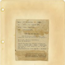 Image of .17  Signal Message   26th July 1943
