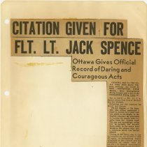 Image of .18  Newspaper Article in Two Clippings   1943