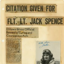Image of .19  Newspaper Article in Four Clippings and One Photo   1943