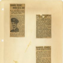 Image of .21  Four Newspaper Articles in Four Clippings   1943