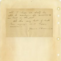 Image of .24 back   Handwritten Letter   2 Sept 1943