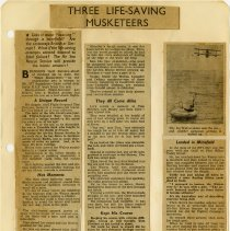 Image of .26  Newspaper Article in Five Clippings    (1943)