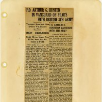 Image of .29  Newspaper Article in Six Clippings     (1943)