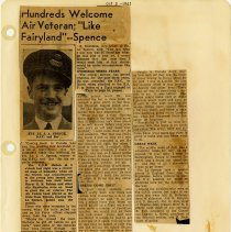Image of .30  One Newspaper Article in Six Clippings   (1943)