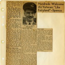Image of .36  Newspaper Article in Six Clippings    (1943)