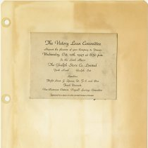 Image of .37  Dinner Invitation   Oct. 13th,  1943