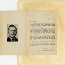 Image of .49  Thank You Card Inside    (1943)