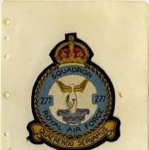 Image of .53   R.A.F. Squadron 277 Crest