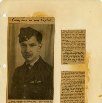 Image of .1 Newspaper Article In Three Clippings   1943