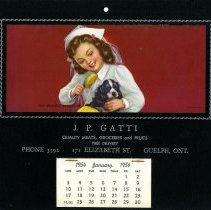 Image of 2013.9.82 - Calendar