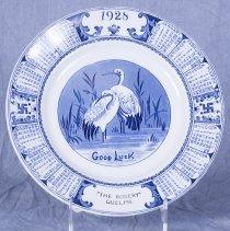 Image of 2013.30.1 - Plate, Commemorative