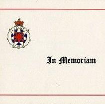 Image of 2014.59.9 - Card, Memorial