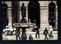 Image of Blacksmith Fountain in St. George's Square c.1910.