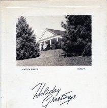 Image of Cutten Fields Christmas Card