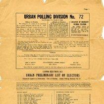 Image of 2015.46.1 - List, Voting