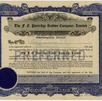 Image of 1977.120.40 - Certificate, Stock